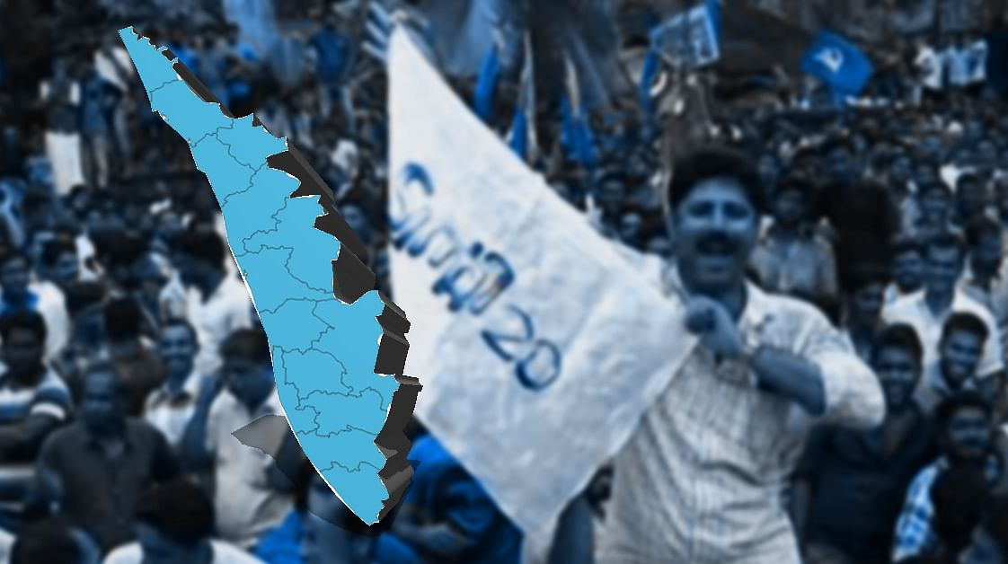 What is the driving force of Twenty20 in Kerala's political scenario amidst traditional coalitions?