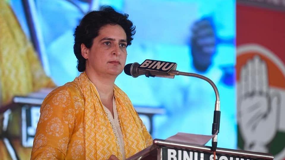 Kerala's LDF govt no different from Centre and speaks Yogi Adityanath's language: Priyanka Gandhi