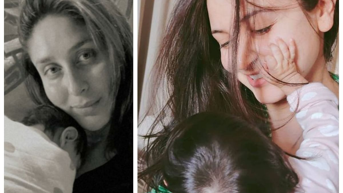 Kareena Kapoor Khan's selfie with baby goes viral