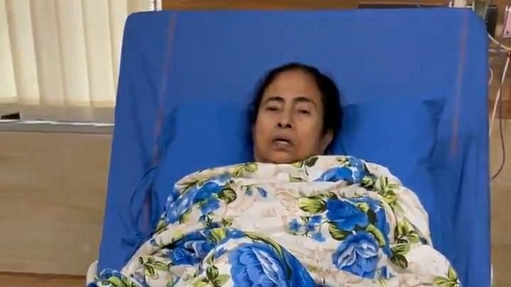 Maintain peace, do not do anything that can cause inconvenience, says Mamata from hospital bed