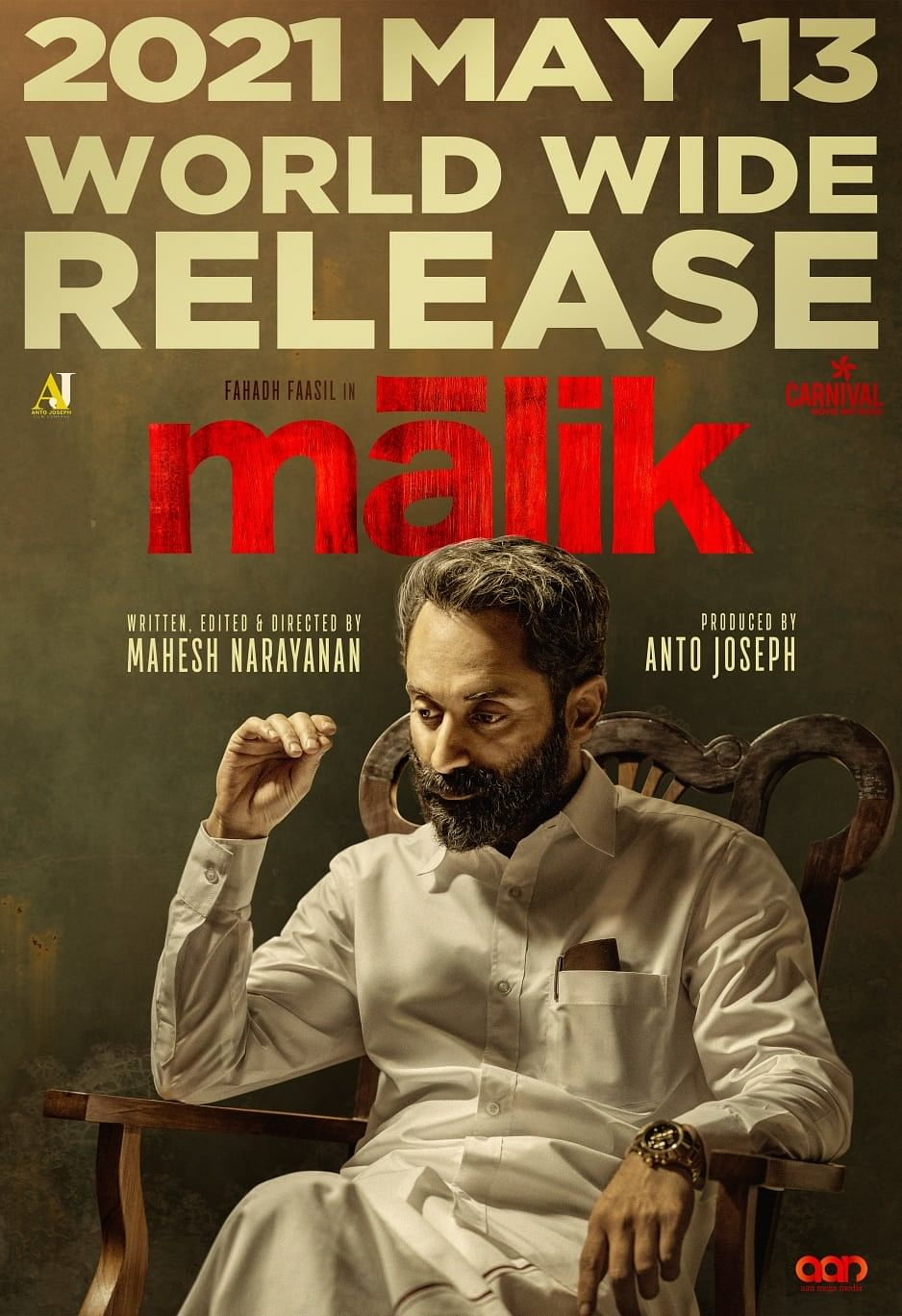 The poster for Malik