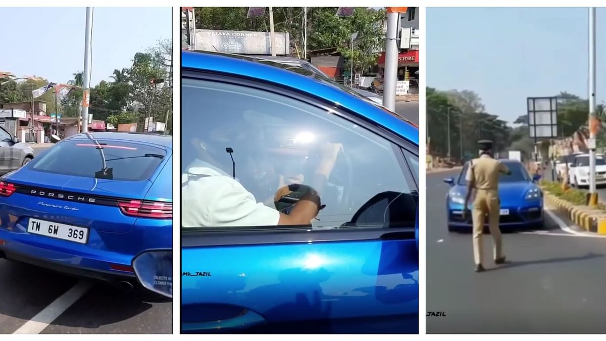 Did Mollywood star Dulquer Salman flout traffic rules in Kerala?
