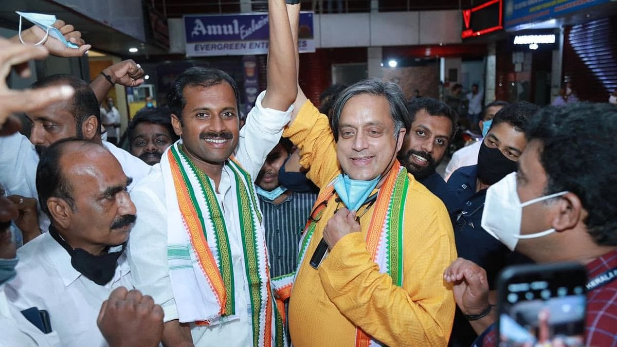 Thiruvananthapuram MP Shashi Tharoor criticises Pinarayi govt for debts and corruption