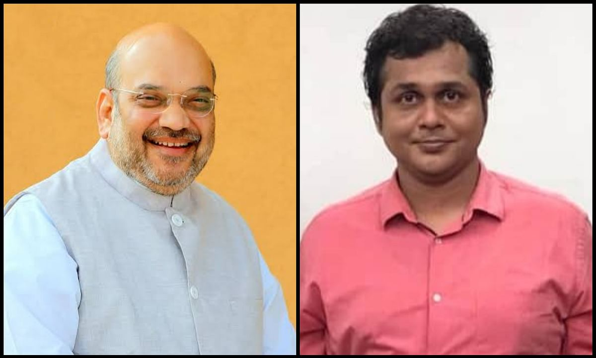 Amit Shah and Saket Gokhale