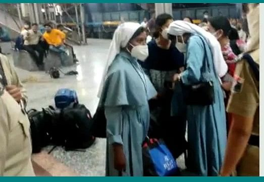 Railways Minister Piyush Goyal claims Kerala nuns not attacked and attackers not ABVP