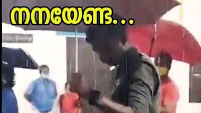 Viral video showcases Kerala Police's animal friendly side