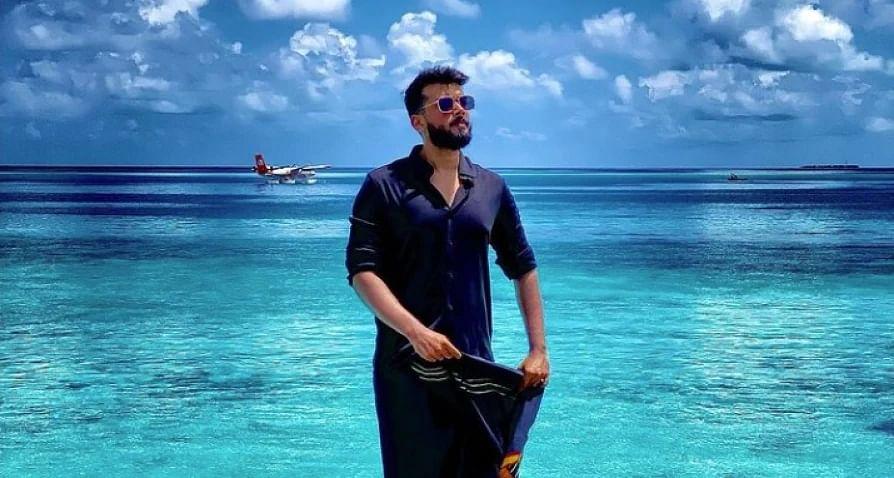 After Disha Patani, Janhvi Kapoor... will Kalidas Jayaram be trolled next for Maldives holiday post?