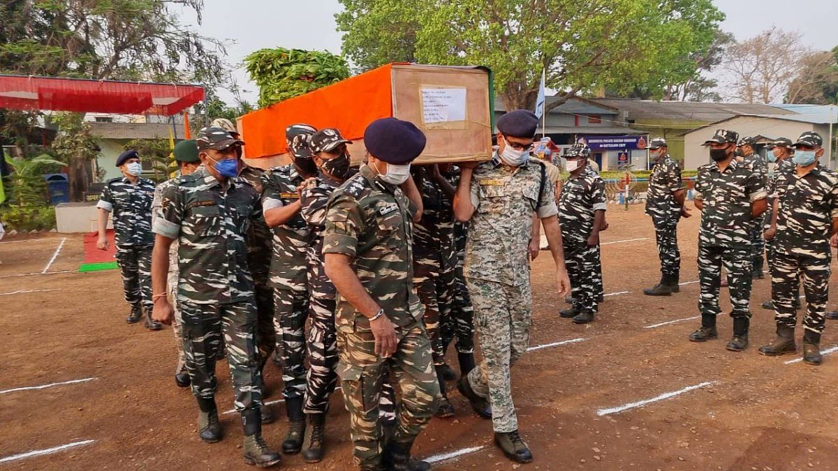 Search operation underway in Chhattisgarh after 22 security personnel killed in Maoist attack