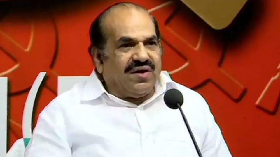 Bineesh's drug case influenced decision to resign from CPM secretary post: Kodiyeri Balakrishnan