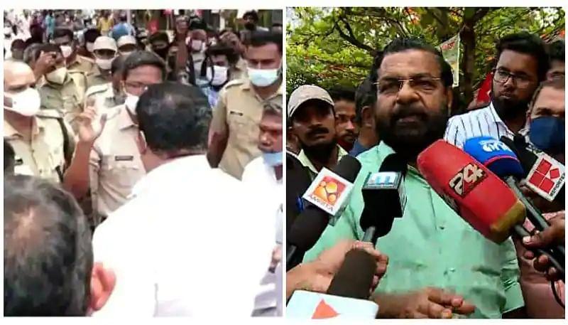 Kerala Min Kadakampally accuses state police of pleasing BJP in solving violence in Kazhakoottam