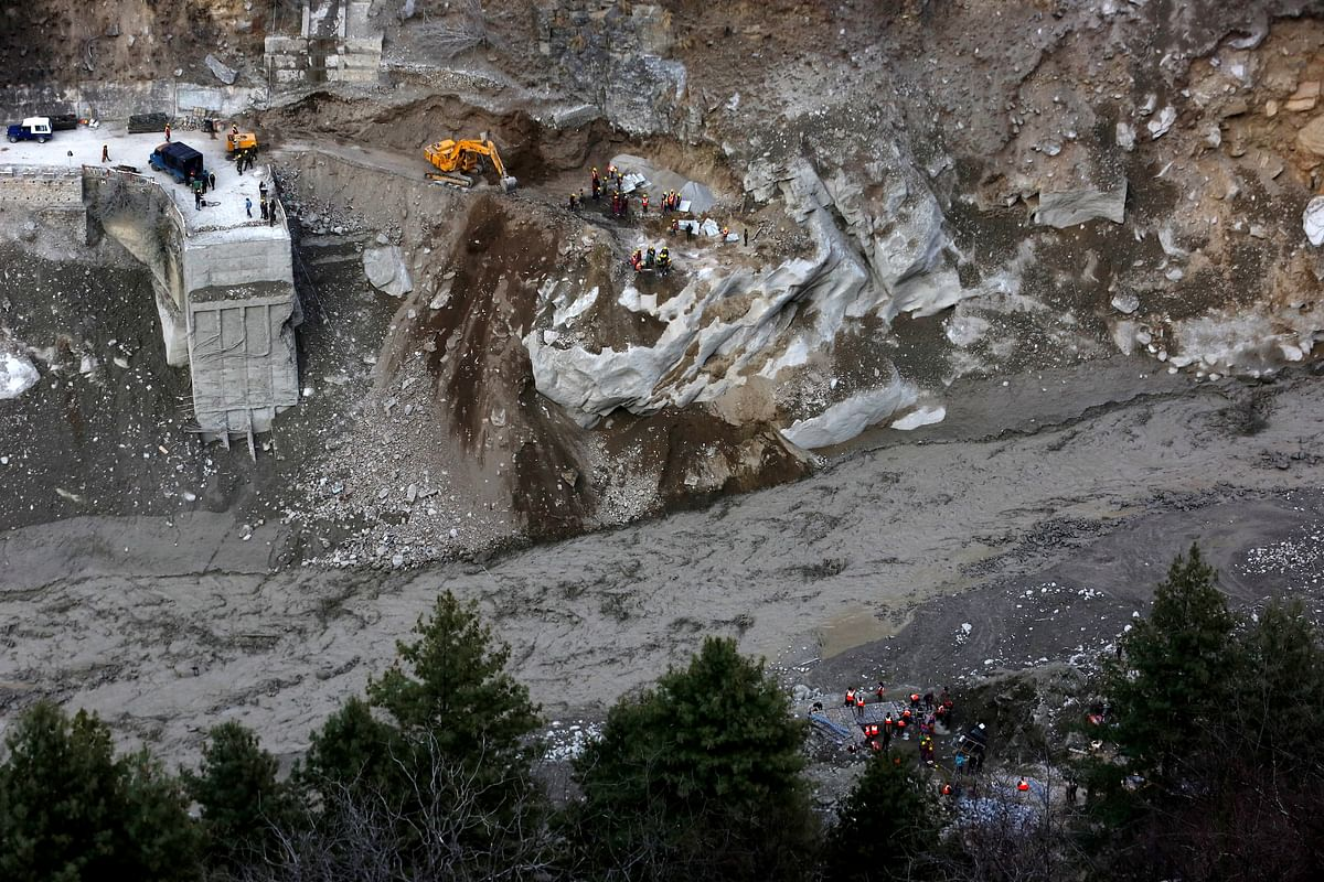 Uttarakhand glacier burst: Indian Army finds eight bodies, rescues 384 people in Chamoli district