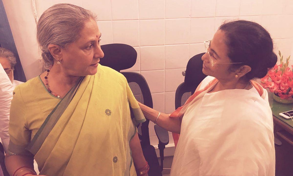 Jaya Bachchan and Mamata Banerjee