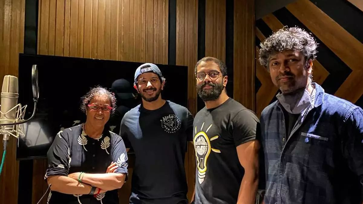 Dulquer Salmaan steps into Tamil playback singing with 'Hey Sinamika'