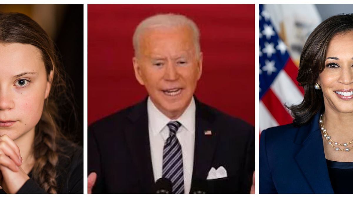 Biden, Harris assure India of all  assistance to fight Covid-19; Greta asks global community to help