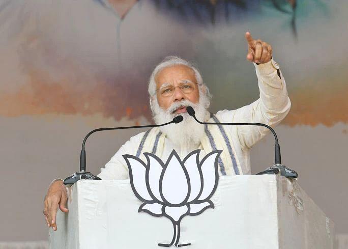 'Swamiye Sharanamayyappo' replaces Modi's signature 'Jai Shree Ram' for Kerala election campaigning