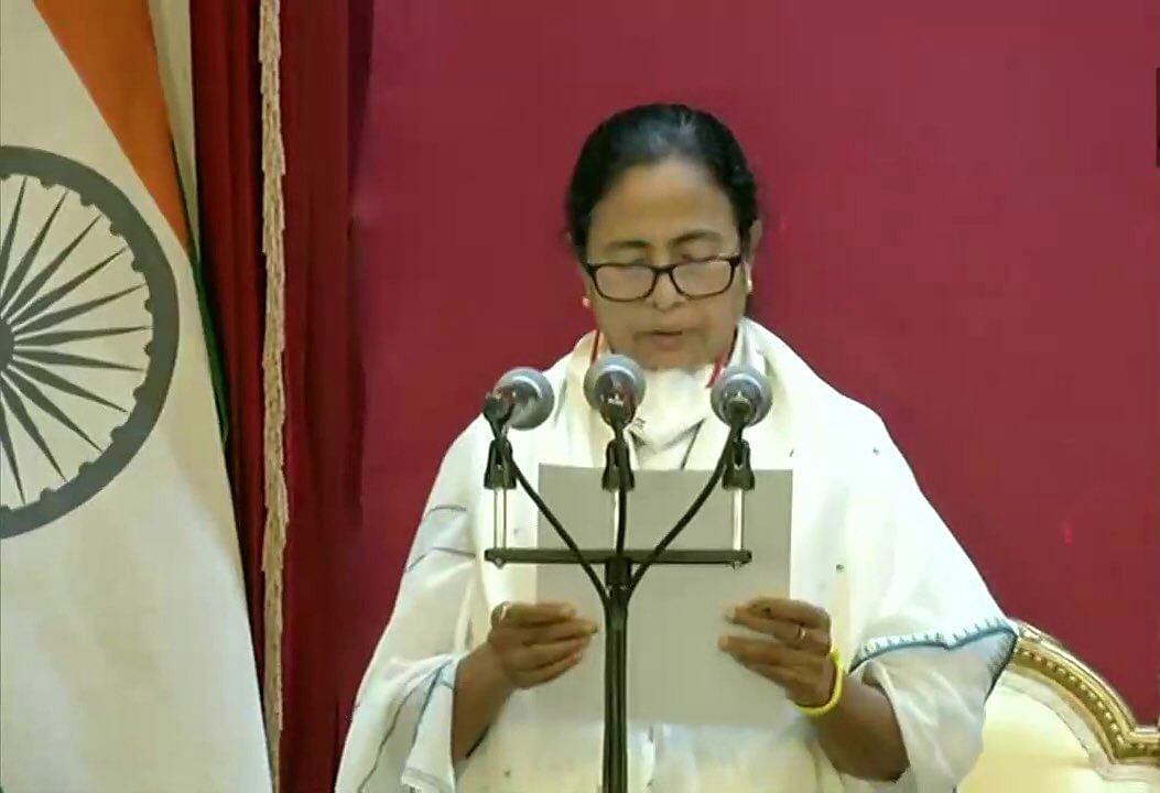 Mamata Banerjee takes oath as West Bengal Chief Minister for third time; PM Modi congratulates Didi