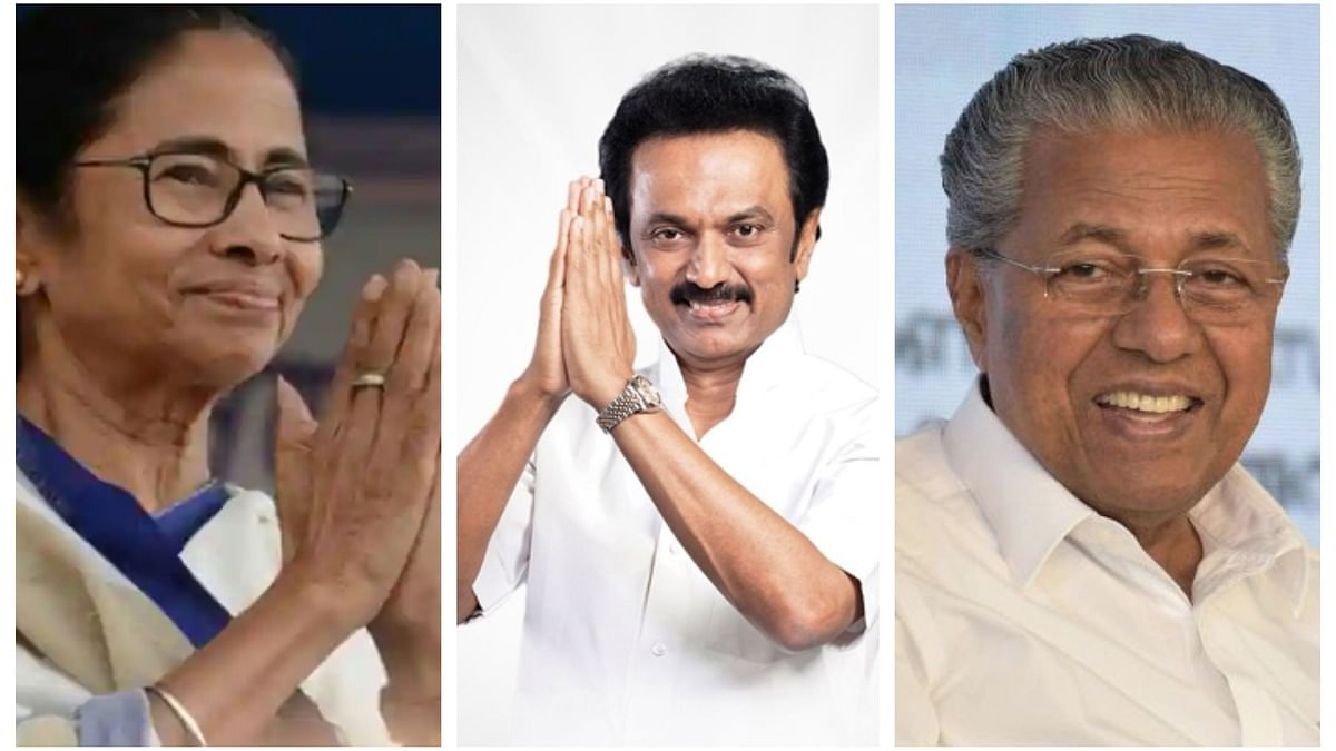 LDF for Kerala, TMC for West Bengal, DMK for TN and BJP for Puducherry, Assam?
