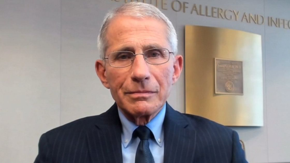 India should shut down for few weeks to curb Covid-19 spread, says US epidemiologist Dr Antony Fauci