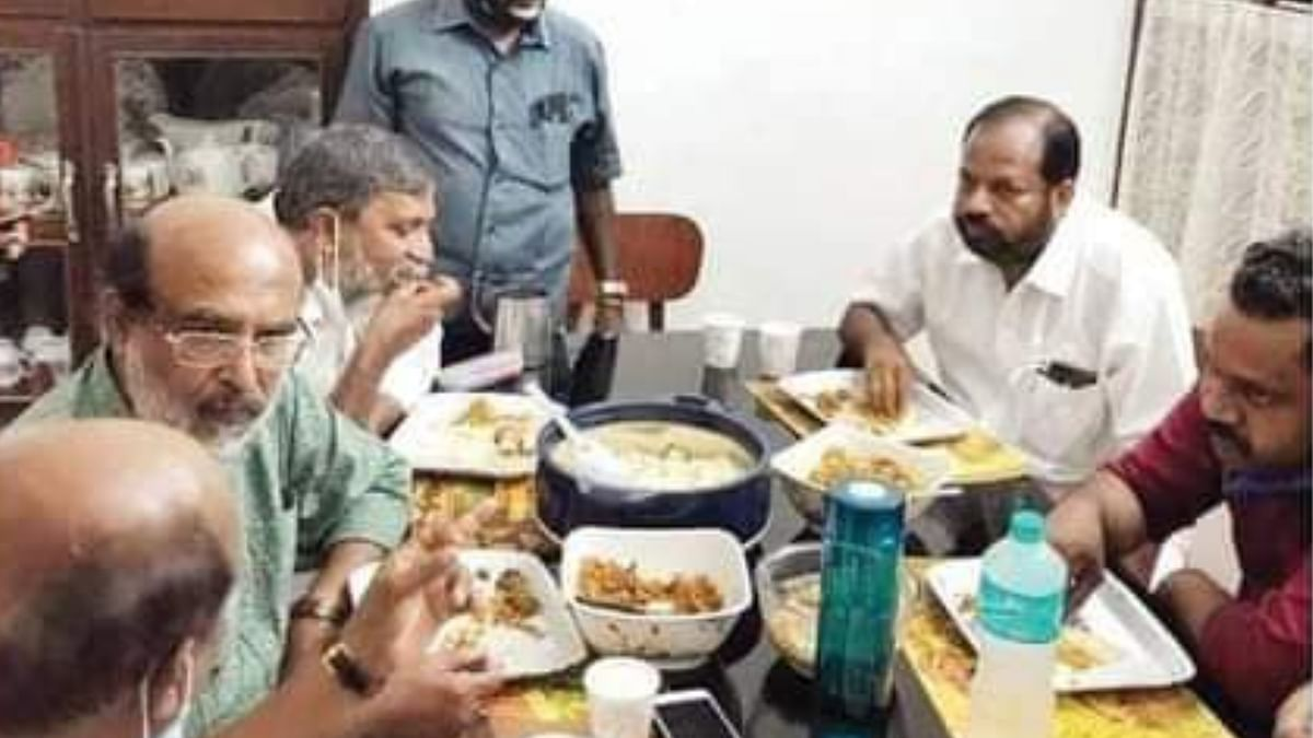 TM Thomas Isaac presence at NDA convenor's dinner party during Kerala polls leads to controversy