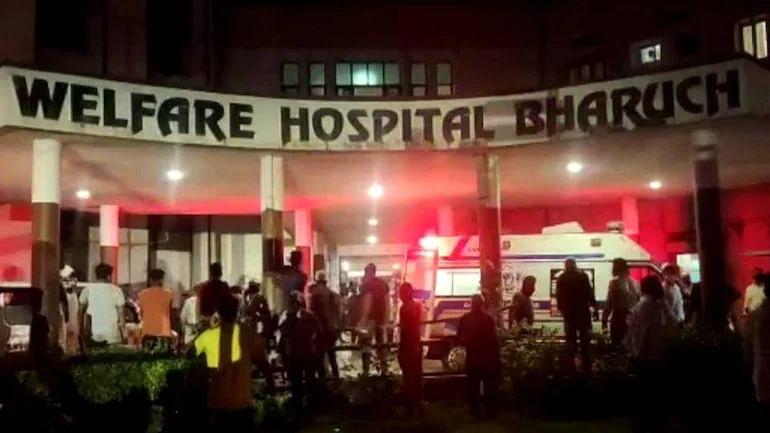 Nearly 18 Covid-19 patients die in Gujarat hospital fire