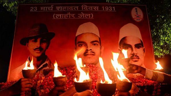 इलाहाबाद में भगत सिंह और उनके साथियों को श्रद्धांजलि / फोटो : Prabhat Kumar Verma/Pacific Press/LightRocket via Getty Images