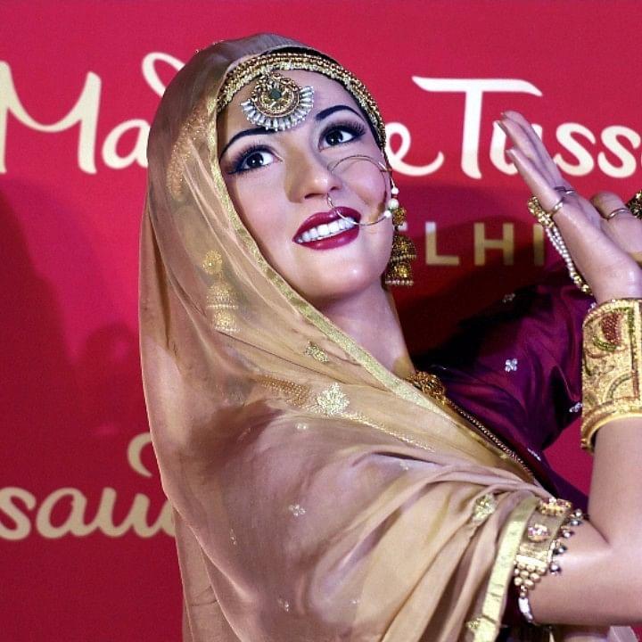 दिल्ली के मैडम तुसाद संग्रहालय में मधुबाला की मोम की मूर्ति/ फोटो: पीटीआई