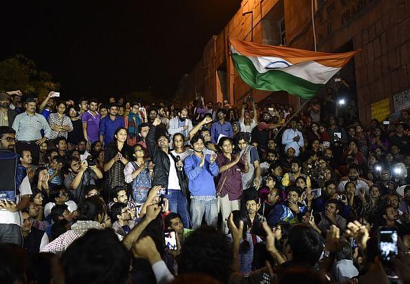 जेएनयू छात्र संघ के पूर्व अध्यक्ष कन्हैया कुमार/ फोटो: Getty Images