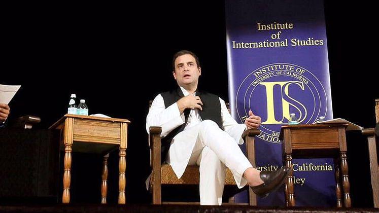 देश में नफरत और हिंसा की राजनीति का बोलबाला : राहुल गांधी
