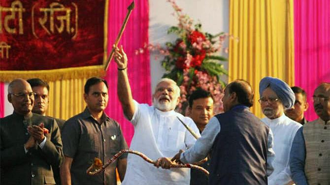 दशहरा और दुर्गा विसर्जन...देश ने मनाया उत्सव