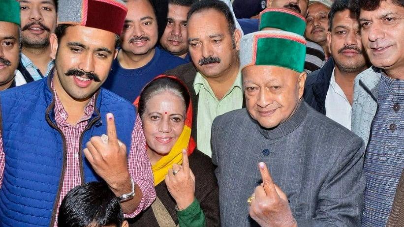 हिमाचल में भले ही बीजेपी जीती हो, लेकिन कांग्रेस अपना वोट प्रतिशत बरकरार रखने में सफल रही