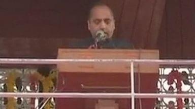 जयराम ठाकुर ने ली हिमाचल के सीएम पद की शपथ, पीएम मोदी समेत कई नेता हुए शामिल