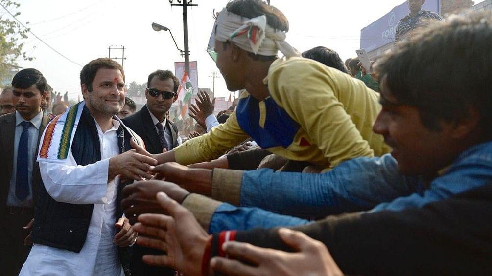 अमेठी दौरे के दूसरे दिन राहुल गांधी का रोड शो, स्वागत में सड़कों पर उमड़ा जनसैलाब
