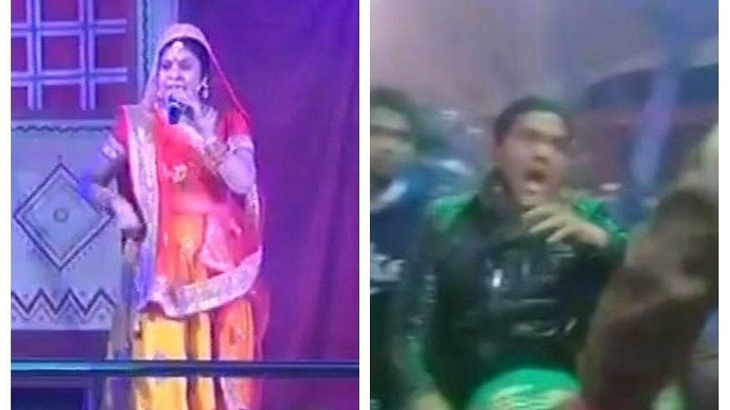गोरखपुर महोत्सव में बेकाबू भीड़ पर पुलिस ने किया लाठीचार्ज, मंच पर मौजूद थे रवि किशन और मालिनी अवस्थी