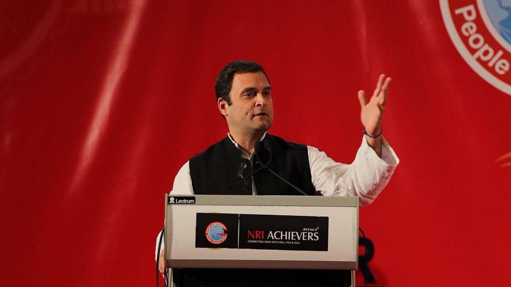 विदेशों में बसे भारतीयों को राहुल  का न्योता: आओ मिलकर दें भारत को अहिंसा और करुणा की 'असली ताकत'