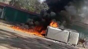 मध्य प्रदेश: सड़क हादसे में 8 लोगों की मौत, गुस्साई भीड़ ने किया पुलिस पर पथराव और आगजनी