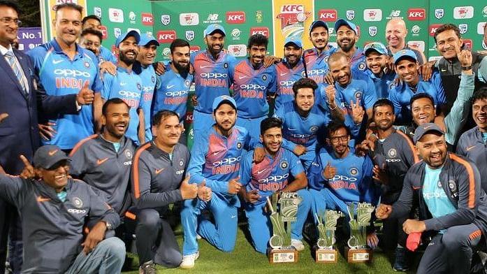 केपटाउन में भारत ने दक्षिण अफ्रीका को 7 रन से हराया, वनडे के बाद टी-20 सीरीज पर किया कब्जा