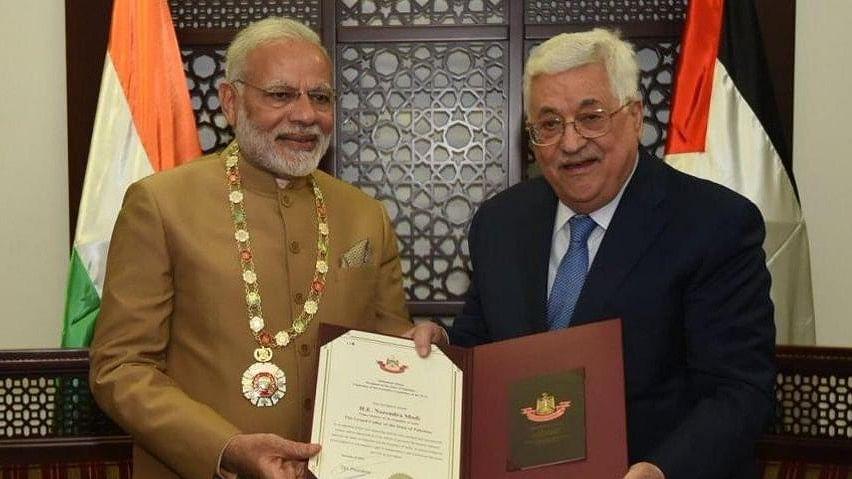 एक आजाद फिलीस्तीन की भारत को उम्मीद: पीएम मोदी