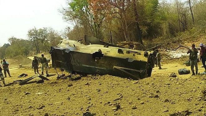 छत्तीसगढ़ के सुकमा में बड़ा नक्सली हमला,  सीआरपीएफ के 9 जवान शहीद