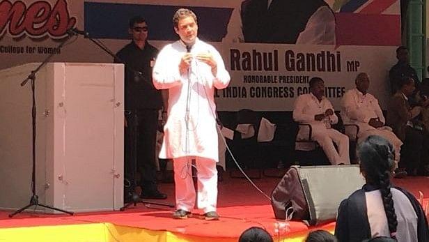 नोटबंदी और जीएसटी से भारतीय अर्थव्यवस्था और नौकरी सृजन को काफी नुकसान पहुंचा: राहुल गांधी