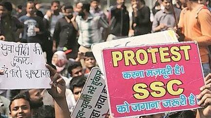 एसएससी घोटाले पर नहीं थमा है छात्रों का रोष: रोजगार के नाम पर सिर्फ सपने बेच रही है मोदी सरकार
