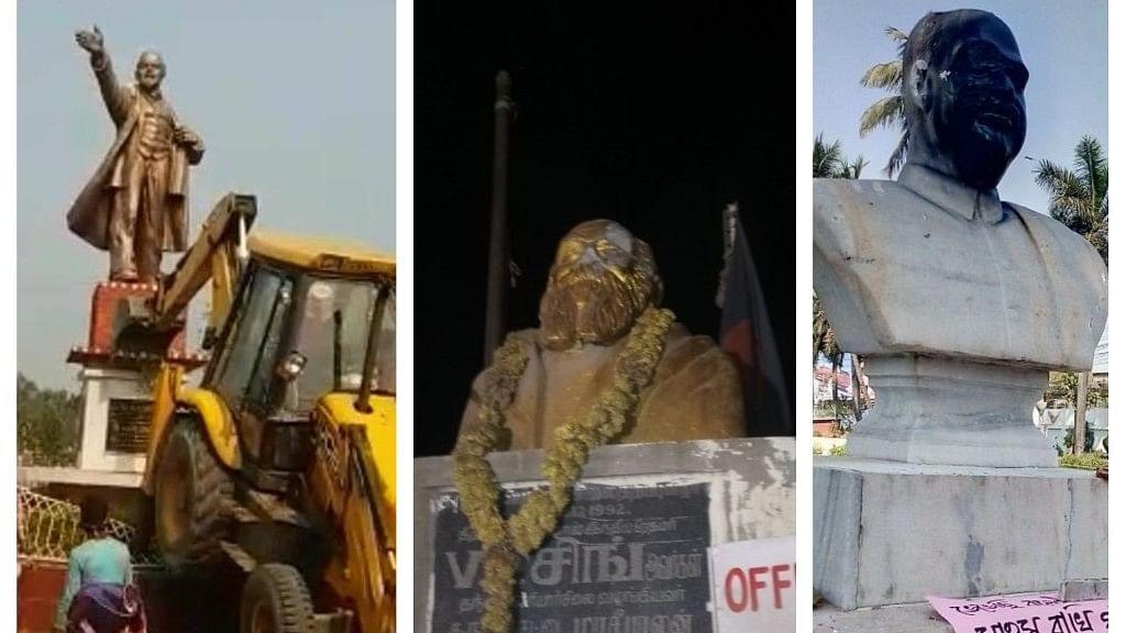 देश के कई हिस्सों में मूर्ति तोड़ने की घटनाएं: और इस वक्त की दूसरी बड़ी खबरें, देखें वीडियो