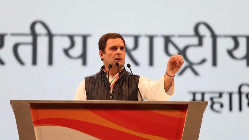 बीजेपी-आरएसएस कौरवों की सेना, हत्या के आरोपी को अध्यक्ष बनाया : राहुल गांधी