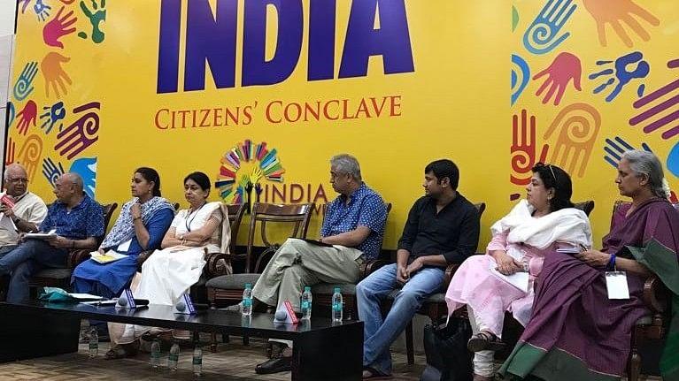 दिल्ली: सिटिजन्स कॉन्क्लेव में वक्ताओं की राय, लोकतंत्र और संविधान को हर हाल में बचाना जरूरी