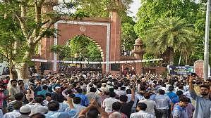 हामिद अंसारी, जिन्ना की तस्वीर और अलीगढ़ मुस्लिम विश्वविद्यालय में हंगामा