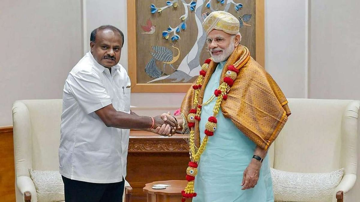 मोदी की चुनौती पर कुमारास्वामी का जवाब, कहा, अपनी नहीं, राज्य की विकास फिटनेस' को लेकर ज्यादा चिंतित
