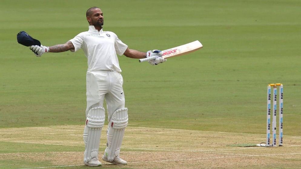भारत-अफगानिस्तान के बीच शुरू हुए ऐतिहासिक टेस्ट के पहले दिन  धवन और विजय की सेंचुरी
