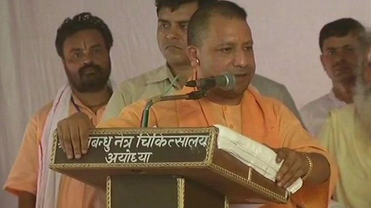 फिर गर्माया राम मंदिर का मुद्दा, वेदांती के बाद सीएम योगी ने कहा, राम मंदिर बनकर रहेगा