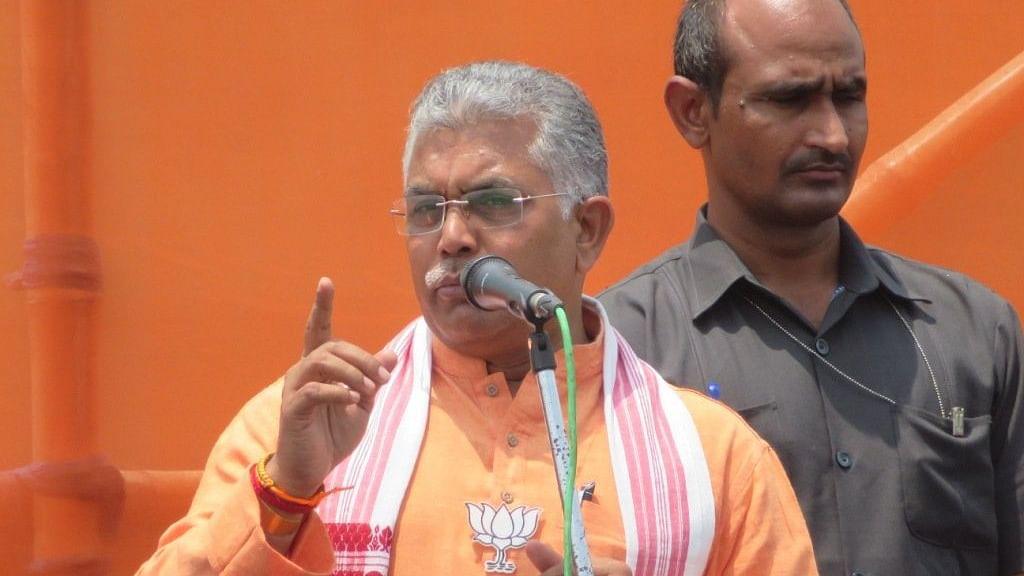 पश्चिम बंगाल के बीजेपी अध्यक्ष दिलीप घोष ने तृणमूल कांग्रेस को दी धमकी, कहा, गोली से लेंगे गोली का बदला