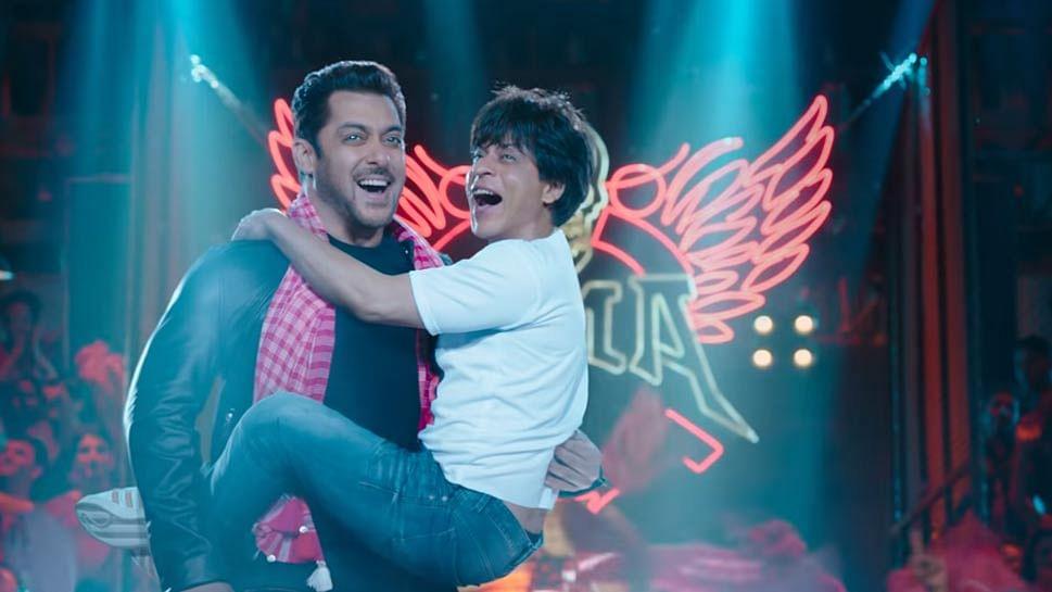 रिलीज हुआ फिल्म 'जीरो' का टीजर, सलमान खान की गोद में नजर आए शाहरुख खान