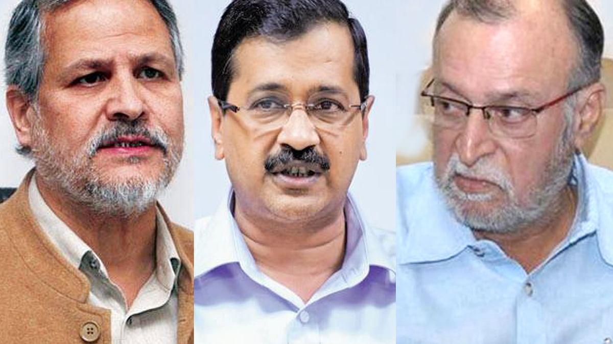 दिल्ली: उपराज्यपाल और केजरीवाल के बीच कब हुए किन मुद्दों पर टकराव